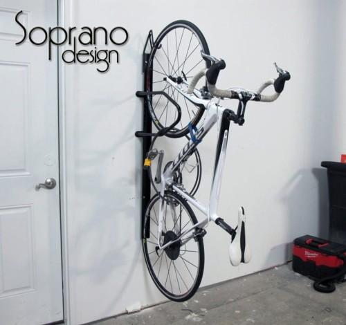 Bardzo dobra Wieszak Stojak Ścienny - Parking Rowerowy z Szyną Soprano Design WM28
